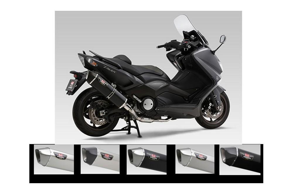 echappement scooter yoshimura hepta force inox inox pour t max 530 12 16 street moto piece. Black Bedroom Furniture Sets. Home Design Ideas