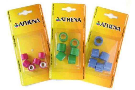 Jeu de 6 Galets Athena 26x13 de 16Grs