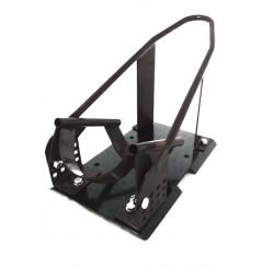 Support - Bloque roue à bascule moto