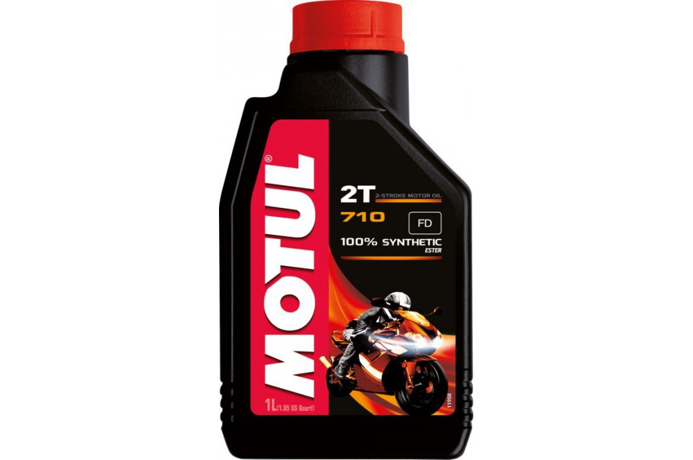 huile motul 710 2t 100 synth se 1 litre street moto piece. Black Bedroom Furniture Sets. Home Design Ideas