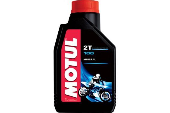 Huile Motul 100 Motomix 2T 1 Litre, Moto et Scooter