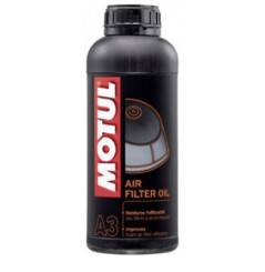 Lubrifiant pour filtre à air Moto Motul AIR FILTER OIL MC Care A3 1Litre