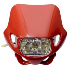 Plaque Phare Moto Enduro Non Homologuée