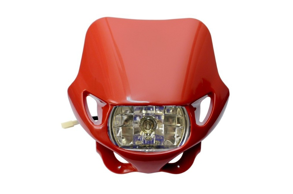 plaque phare moto enduro non homologu e street moto piece. Black Bedroom Furniture Sets. Home Design Ideas