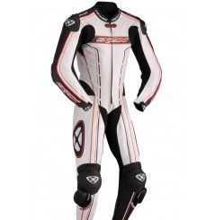 Combinaison Racing IXON ZENITH Blanc / Noir / Rouge