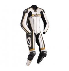 Combinaison Racing IXON ZENITH Blanc / Noir / Or