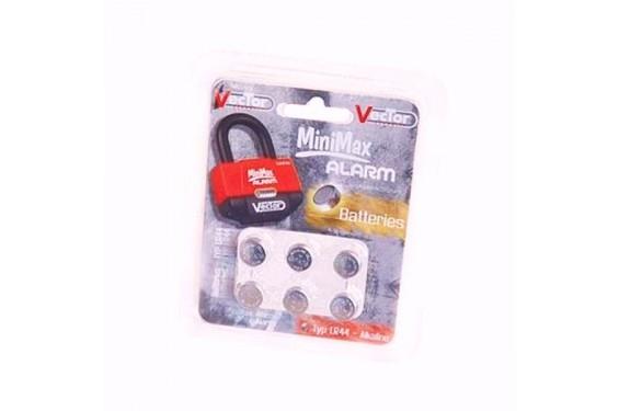 Piles de remplacement pour Vector MiniMax Alarm