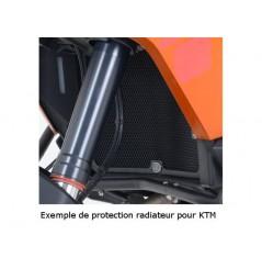 Protection de Radiateur Noire R&G pour KTM Adventure 990 08-14