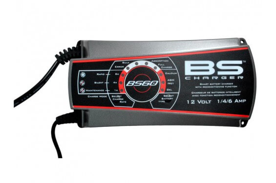 Chargeur de Batterie Moto Intelligent BS BS60 professionnel