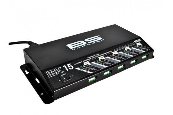 Borne de Charge 5 Voies BS 100% Automatique pour Batteries Moto