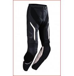 Pantalon Cuir Ixon Prima Pant VX Noir - Blanc