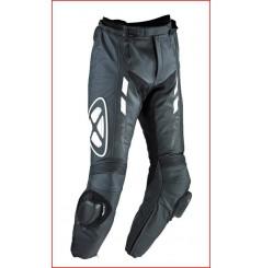Pantalon Cuir Ixon Addict Pant Noir - Blanc