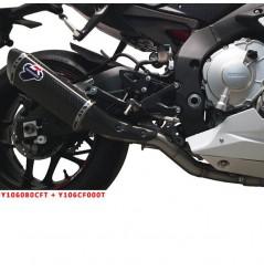 Décatalyseur / Tube intermédiaire Termignoni pour Yamaha R1 et R1M (15-17)