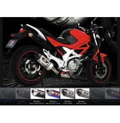 Silencieux moto Yoshimura R77-S pour Gladius 650 (09-16)