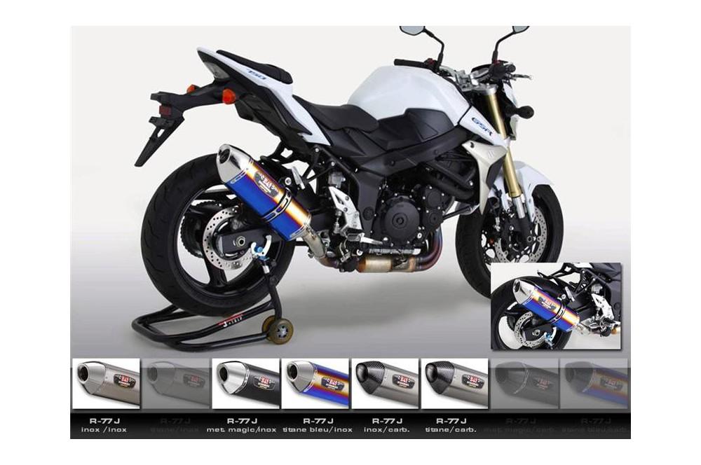 silencieux moto yoshimura r77 j pour gsr750 11 16 street moto piece. Black Bedroom Furniture Sets. Home Design Ideas