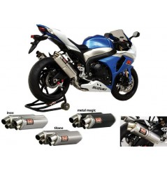 Silencieux moto Yoshimura Tri-Oval 2 pour GSXR1000 09-11