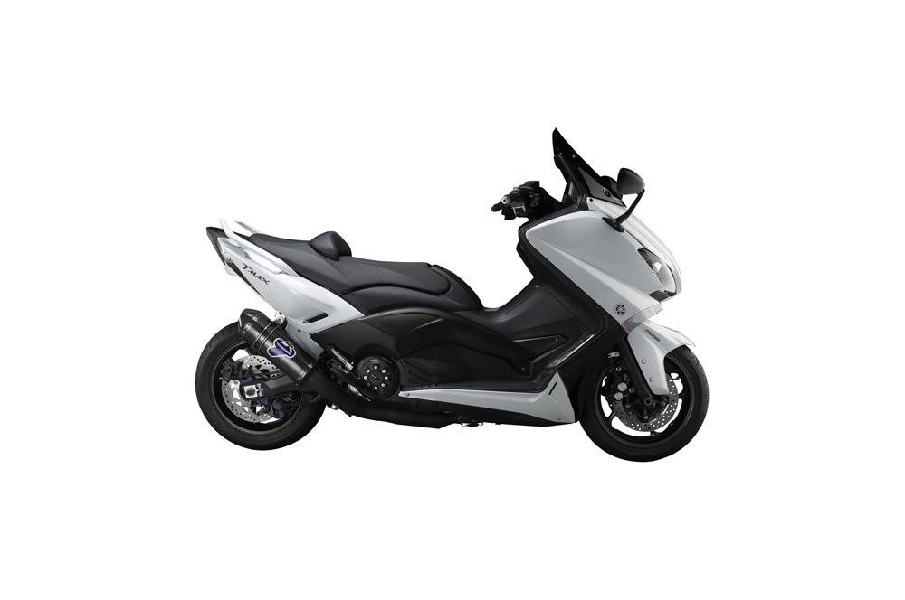 ligne compl te termignoni pour yamaha t max 530 12 16 street moto piece. Black Bedroom Furniture Sets. Home Design Ideas
