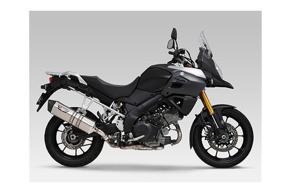 silencieux moto yoshimura heptaforce pour v strom 1000 14 16 street moto piece. Black Bedroom Furniture Sets. Home Design Ideas