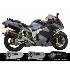 Silencieux moto Yoshimura Tri-Oval pour Hayabusa 1300 (99-07)