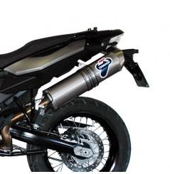 Silencieux moto Termignoni Titane pour BMW F800GS (08-12)