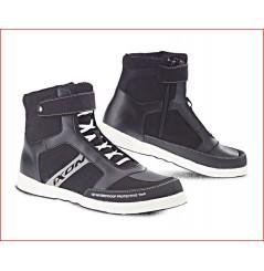 Chaussure UrbanMoto Ixon Slack Noir - Blanc