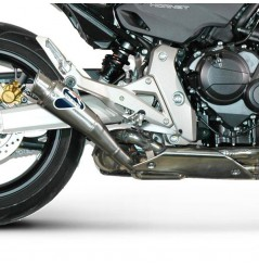 Silencieux moto Termignoni Conique pour Honda Hornet 600 (07-12)