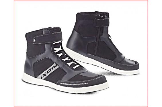 Chaussure Urban Moto Ixon Slack Lady Noir - Blanc