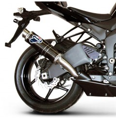 Silencieux moto Termignoni Rond pour Kawasaki ZX6RR (09 -13)