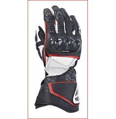 Gants Racing Moto Ixon Rs Circuit Hp Noir - Blanc - Rouge