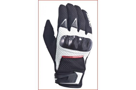 gants moto roadster ixon rs combat hp noir blanc street moto piece. Black Bedroom Furniture Sets. Home Design Ideas