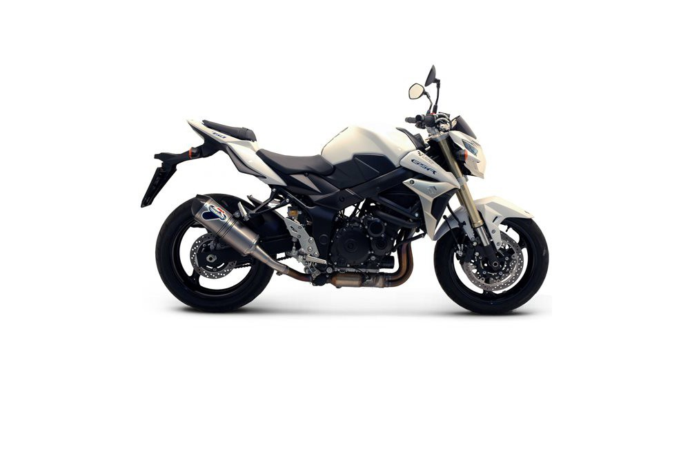 silencieux homologu termignoni relevance inox pour gsr750 11 13 street moto piece. Black Bedroom Furniture Sets. Home Design Ideas