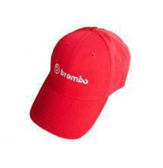 Casquette brodée Brembo Rouge