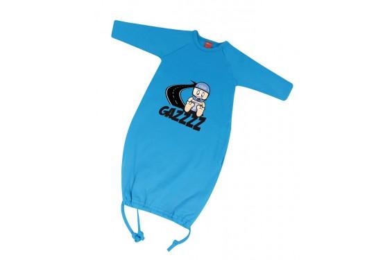 Grenouillère bébé GAZZ 6 - 12 Mois bleue
