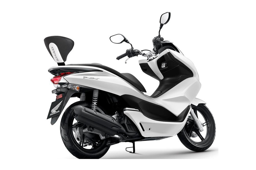 dosseret scooter shad pour honda pcx125 10 16 street. Black Bedroom Furniture Sets. Home Design Ideas
