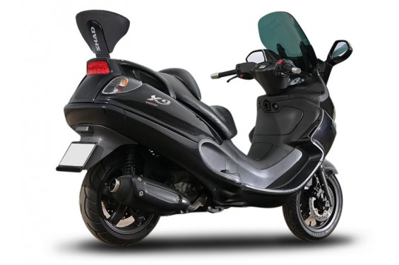 dosseret scooter shad pour piaggio x9 125 250 500 00 09. Black Bedroom Furniture Sets. Home Design Ideas