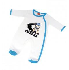 Pijama Bébé GAZZ 12 - 18 mois Blanc Bleu