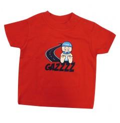 T-Shirt Bébé GAZZ 0 - 6 Mois Rouge