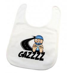 Bavoir bébé GAZZ bleu