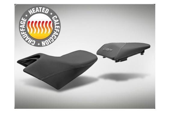 Selle Confort Chauffante Complète Moto SHAD pour CBF600 (09-12) et CBF1000 de 2012