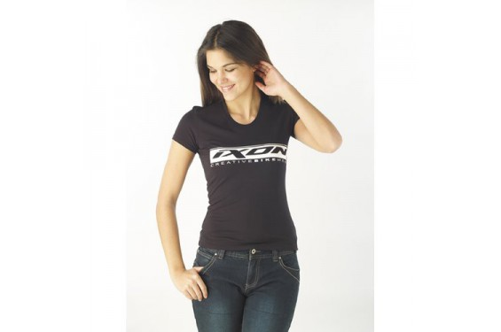 T-Shirt femme Ixon Mob noir / blanc