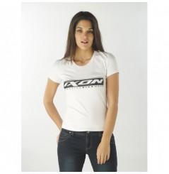 T-Shirt femme Ixon Mob blanc / noir