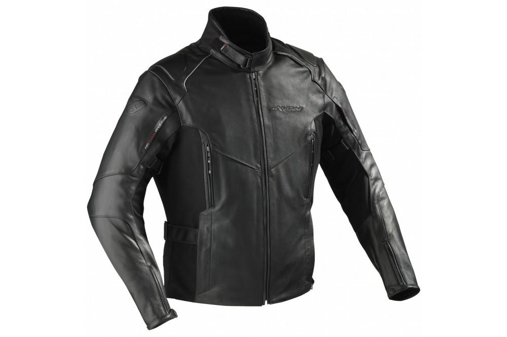 blouson cuir moto ixon centaur noir street moto piece. Black Bedroom Furniture Sets. Home Design Ideas