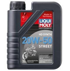 Huile Moto LIQUI MOLY HD 20W50 Motorbike 100% Synthèse 1 Litre - PROMO -50%