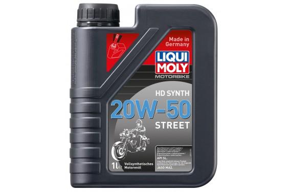 Huile Moto LIQUI MOLY HD 20W50 Motorbike 100% Synthèse 1 Litre