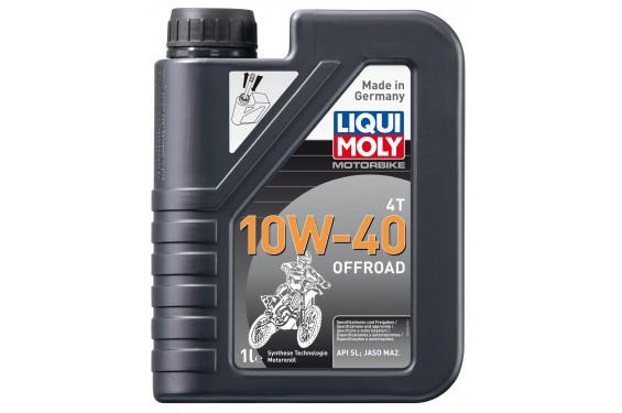 Huile Moto LIQUI MOLY 10W40 Off Road Semi-Synthèse 1 Litre
