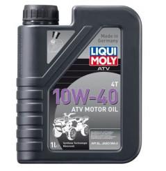 Huile LIQUI MOLY 10W40 Quad / ATV 100% Synthèse 1 Litre PROMO -50%