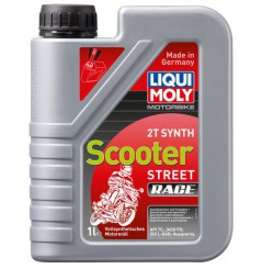 Huile Scooter LIQUI MOLY 2 Temps Motorbike 100% Synthèse 1 Litre - PROMO -50%