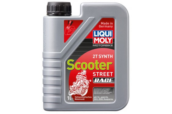 Huile Scooter LIQUI MOLY 2 Temps Motorbike 100% Synthèse 1 Litre