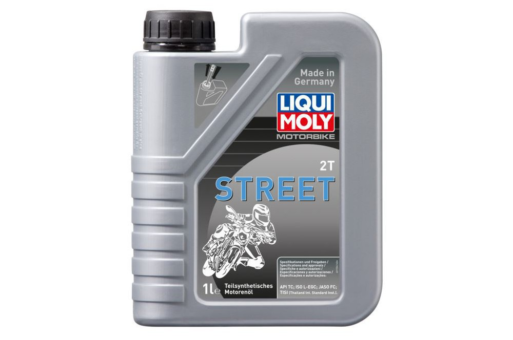 huile moto liqui moly 2 temps motorbike semi synth se 1 litre street moto piece. Black Bedroom Furniture Sets. Home Design Ideas