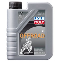 Huile Moto Cross LIQUI MOLY 2 Temps Motorbike Off Road Semi-Synthèse 1 Litre